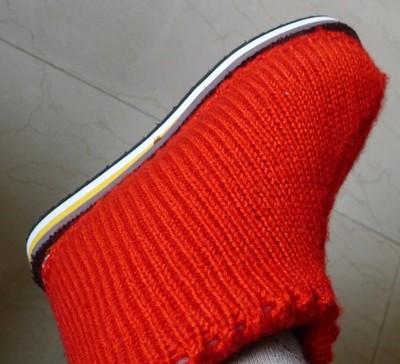 毛线编织棉鞋_毛线编织棉鞋花样图解